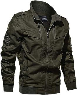 COMVIP 3 Styles Men Front Zipper Casual Outdoor Coat Windbreaker Jackets