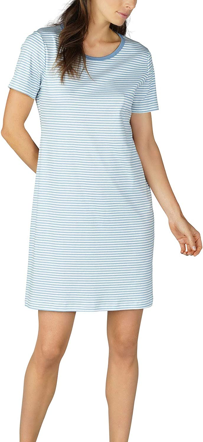 Mey Women 11951 Women's Paula Striped Cotton Nightdress