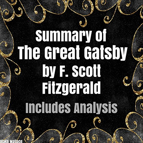 Couverture de Summary of 'The Great Gatsby' by F. Scott Fitzgerald
