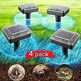 Best Mole Repellents - JIA LE Solar Mole Repellent Outdoor Ultrasonic Gopher Review