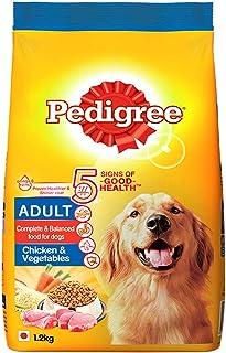 Pedigree Adult Dry Dog Food, Chicken & Vegetables, 1.2kg Pack