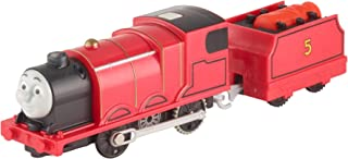 Fisher-Price Thomas & Friends TrackMaster, Real Steam James [Amazon Exclusive]