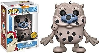 Funko Stimpy (Chase Edition): Ren & Stimpy x POP! Vinyl Figure & 1 POP! Compatible PET Plastic Graphical Protector Bundle [12114 - B]