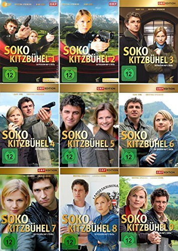 SOKO Kitzbühel - Box 1-9 (18 DVDs)