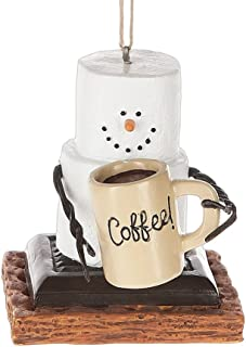 S'Mores Coffee Lover Christmas/ Everyday Ornament