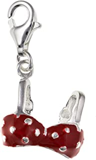 /émaill/é Rouge Thomas Sabo Femme Pendentif Charm /« C/œur Tree of Love /» Argent Sterling 925 Nylon 1504-041-27