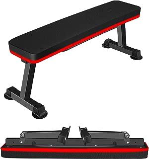 フラットベンチ トレーニングベンチ 折りたたみ フラットベンチ 腹筋トレ 背筋トレベンチ 優級版 耐荷重300KG