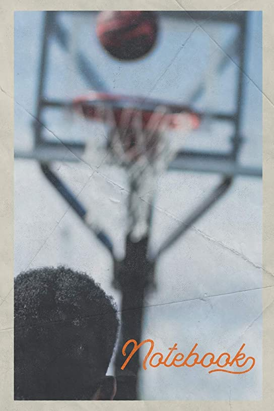 悪行以前はサスペンドNotebook: Basketball Hoop Height Excellent Composition Book Journal Diary for Men, Women, Teen & Kids Vintage Retro Design for alley-oop dunk professionals