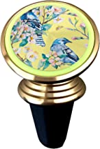 Magnetic Phone Car Mount,Blue Jay On A Flowering Cell Phone Holder for Car Air Vent Mount Smartphone Stand Magnet Support Hands Free Mobile Accessories