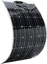 Mainstayae 80W لوحة شمسية عالية الكفاءة أحادية البلورية سيليكون خلية شمسية DIY ماء شاحن الطاقة للبطارية شحن التخييم سيارة قارب 100W MHLMAINSTAYAEH26644-100WCTSA