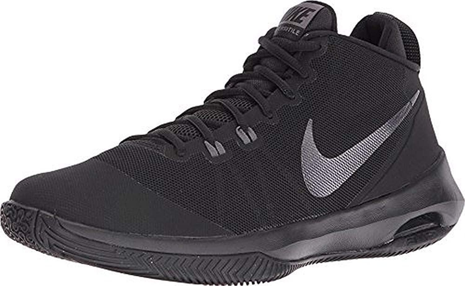 Nike Mens AIR Versitile NBK, Black MTLC Dark Grey-Dark Grey, 7