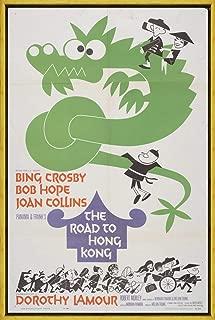 フレーム キャンバスに映画ポスタージクレープリント - 映画ポスター複製壁の装飾(香港2への道) #XLK