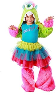 UGGSY Monstar - Premium Monster Dress-up Role Play Halloween Costume Set for Girls Child Sm/Med(6 to 8)