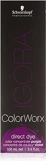 Schwarzkopf IGORA ColorWorx Direct Dye (Color Concentrate Purple)