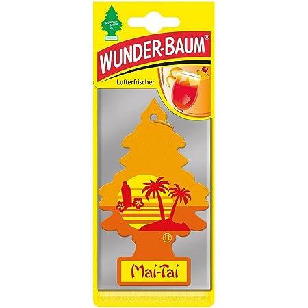 5 X Wunderbaum Lufterfrischer Mai Tai Exotisch Herb 7295 Auto