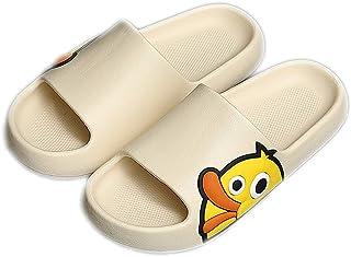 Sandalias de verano para hombre y mujer, bonitas pantuflas de pato, antideslizantes, para interior y exterior