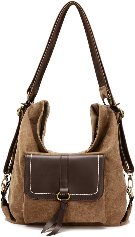 Retro canvas tasche,Multifunktions-handtasche Schultertaschen für für für frauen Große schultertaschen für frauen-E B07B9SWS53  Ausgezeichnet f76bad