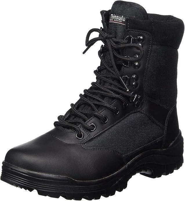 Mil-Tec SWAT Boots Black : Amazon.de: Fashion