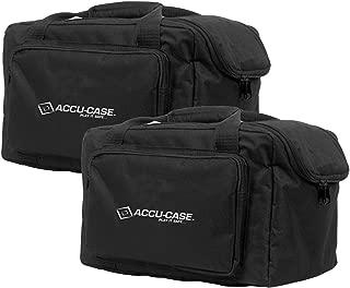 (2) American DJ Slim Par & Pocket Spot/Roll/Scan Light Effect Case   F4 Par Bags