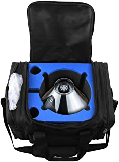 Cloudten Carrying Case Designed for Volcano Hybrid, Volcano Digital or Volcano Classic Solid Valve, Tube System or Easy Valve Starter Kit, Includes Cannister and 3 Mini Herb Smell Resistant Baggies
