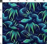 Schlange, Blätter, Tropisch, Dschungel, Eidechse,