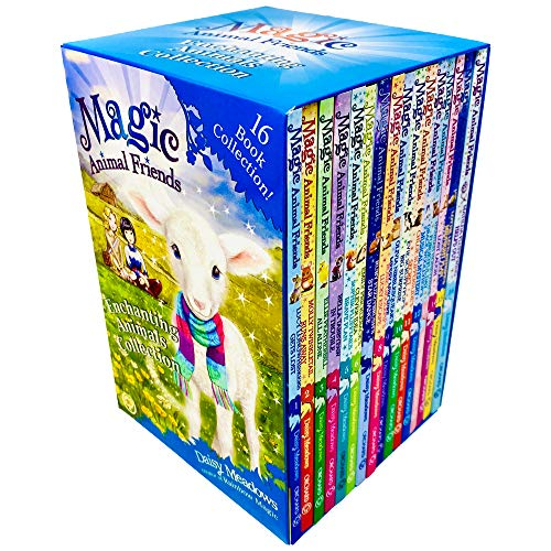 Magic Animal Friends Enchanted Animals Collection 16 Books Box Set by Daisy Meadows (Series 1 - 4)