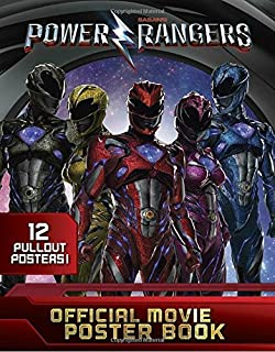 Power Rangers Official Movie Poster Book