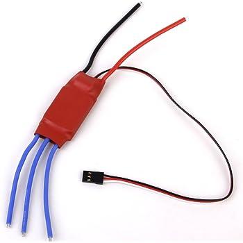 【ノーブランド品】/ 3A 5V BEC赤いワット30アンペア30aはsimonkファームウェアブラシレスESC