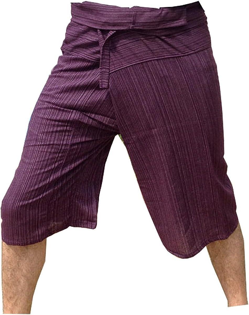 Thai Fisherman Pants Yoga Trousers Free Stripe-P Ranking TOP3 3 Size Super intense SALE 4 Cotton