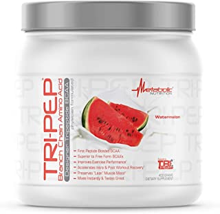 Metabolic Nutrition | TRIPEP - Tri-Peptide Branch Chain Amino Acid, BCAA Powder, Pre Intra Post Workout Supplement | Water...