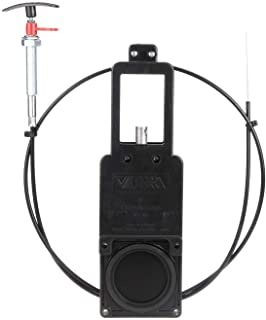 """Valterra Flexible Cable Kit with 3"""" Valve, Mess-Free Waste Valve for RV's, Campers, Trailers"""