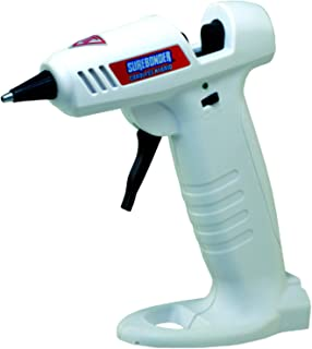 Surebonder Hybrid-20F Mini Cordless/Corded High Temperature Glue Gun-for Cordless Use The Gun Requires 4 AA Batteries (not Included)