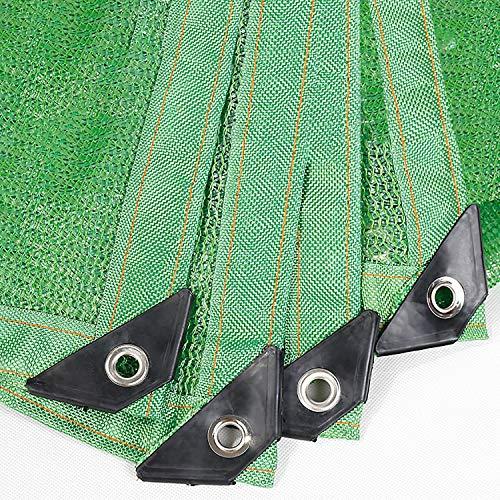 Anuo schaduwdoek, 85% zonweringweefsel, met oogjes, zonbeschermingsrooster, voor pergola-overkappingen van terrasgazon