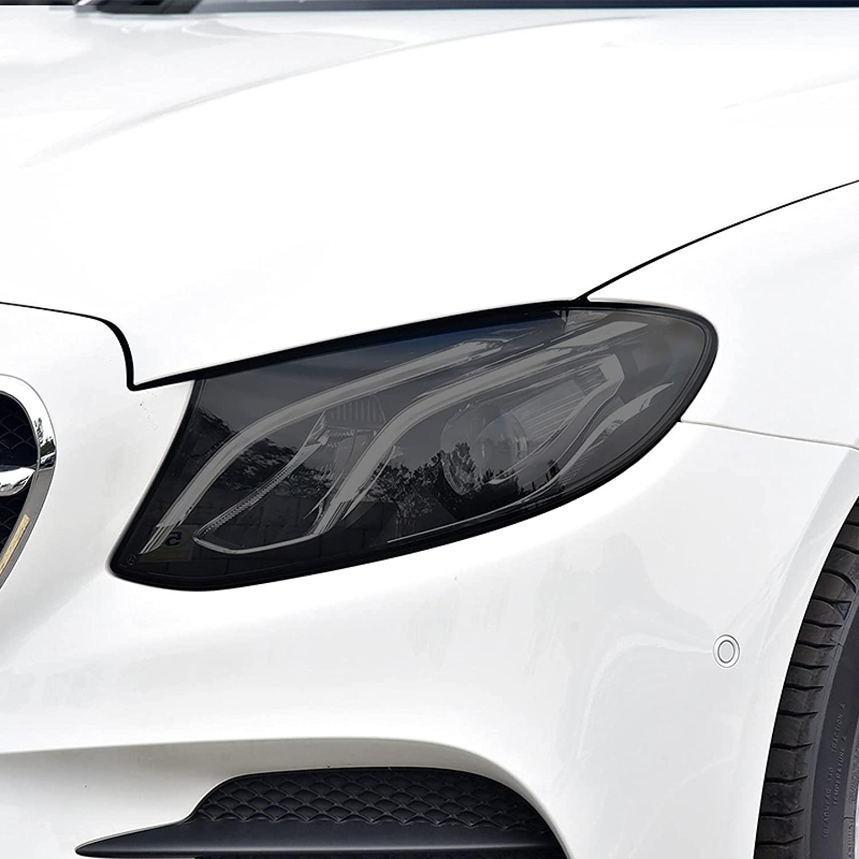 HLLebw Car Max 65% OFF Headlight Tint Black TPU Film Transparent Protective depot