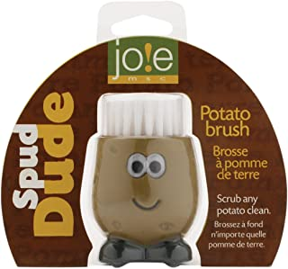 MSC International 63541 Joie Spud Dude Potato Brush, Brown