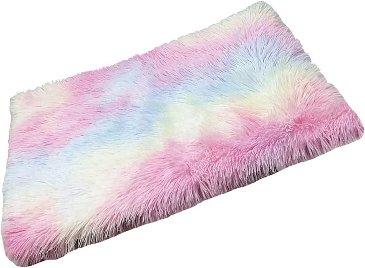 ZINGYUE Cat Bed 2 Cheap mail order shopping in 1 Sofa Fluffy Washable Puppy Warm Colorful Albuquerque Mall