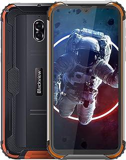 Blackview BV5900 SIMフリー スマホ本体 IP68防水/防塵/耐衝撃 5580mAh大容量バッテリー 3GB RAM + 32GB ROM スマートフォン 5.7インチHD+ 大画面 13MP+5MPデュアルカメラ Android 9.0 デュアルSIM 水中カメラモード 顔認証 指紋認証 携帯電話 AU対応不可 1年間保証付き