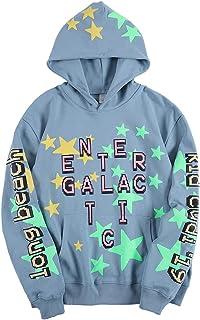 Kid Cudi Enter Galactic Hoodie Hip Hop Rapper Star Luminous Sweatshirts Pullover Hoodies