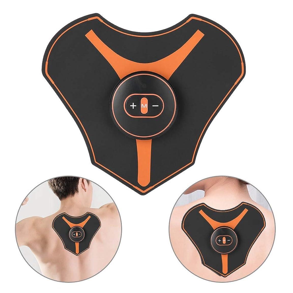 大佐ヒロインに慣れ頸部マッサージパッド、ミニ頸部マッサージャー多機能ショルダーネックマッサージパッド頸椎は、肩、背中、足、足、体の筋肉痛のためにリラックスします
