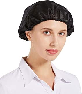 Nanxson 3Pcs Bouffant Caps,Food Service Hair Nets,Hair Head Cover Net for Factory, Kitchen, Factory Warehouse Worker CF9047