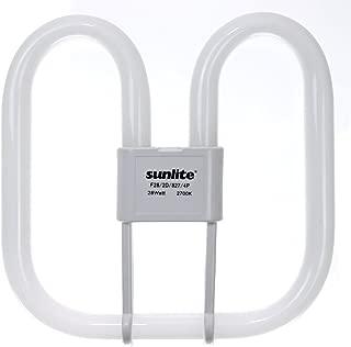 Sunlite F28/2D/835/4P 28-Watt 2D Linear Fluorescent Light Bulb GR10q Base, 3500K