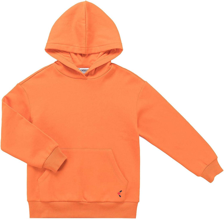 New products world's highest quality popular KOWDRAGON Kids Basic Sweatshirts soft brushed Long-awaited Pullover Ho fleece
