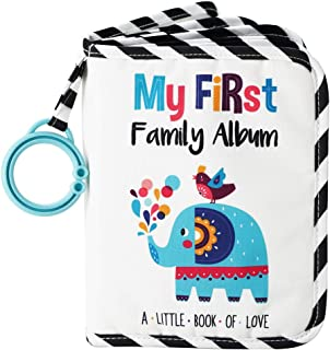 Urban Kiddy Baby's My First Family Album | Soft Photo Cloth Book Gift Set for..