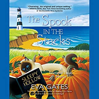 The Spook in the Stacks     The Lighthouse Library Mysteries, Book 4              Written by:                                                                                                                                 Eva Gates                               Narrated by:                                                                                                                                 Elise Arsenault                      Length: 9 hrs and 3 mins     Not rated yet     Overall 0.0