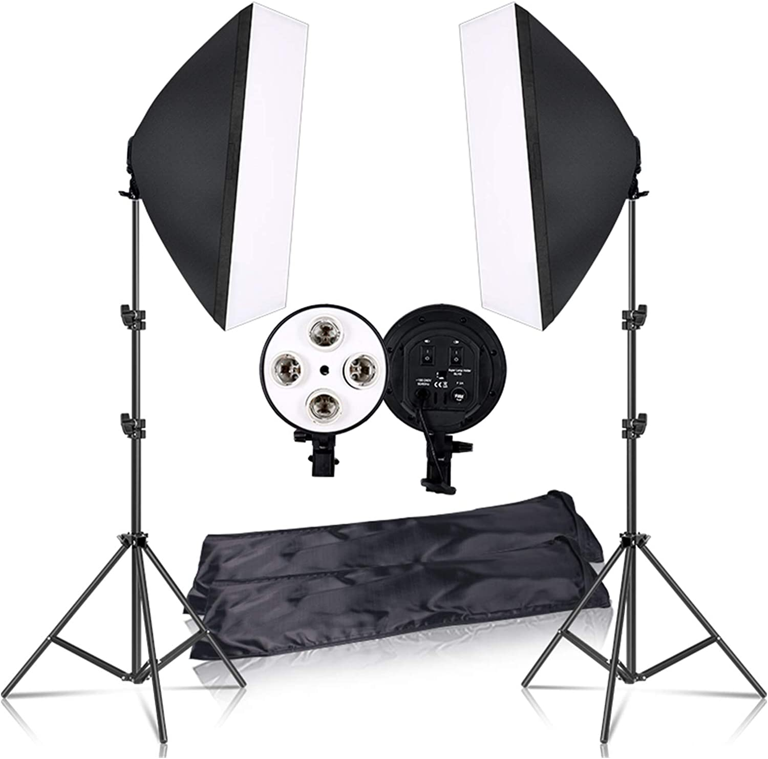 WODEJIA Photography 50x70CM Lighting Four Kit Softbox Lamp Ranking integrated 1st place with National products