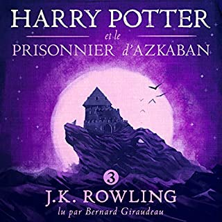 Page de couverture de Harry Potter et le Prisonnier d'Azkaban (Harry Potter 3)