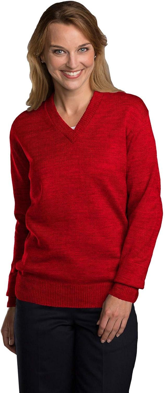Selling rankings Averill's Sharper Uniforms Over item handling Unisex Pullover School Classic V-Neck