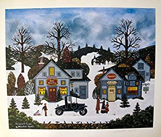 Wall Art by Jane Wooster Scott Innocent Times Hand Signed Limited Ed. Lithograph Print. After the Original Painting or Drawing. Paper 14 Inches X 16.5.