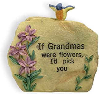 BANBERRY DESIGNS Unique Gift for Grandma Message Stone 3 1/2