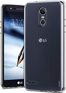 LG Stylo 3 Case, LG Stylo 3 Plus Case, Aeska Ultra [Slim Thin] Flexible TPU Soft Skin Silicone Protective Case Cover for LG Stylo 3 / LG Stylo 3 Plus (Clear)
